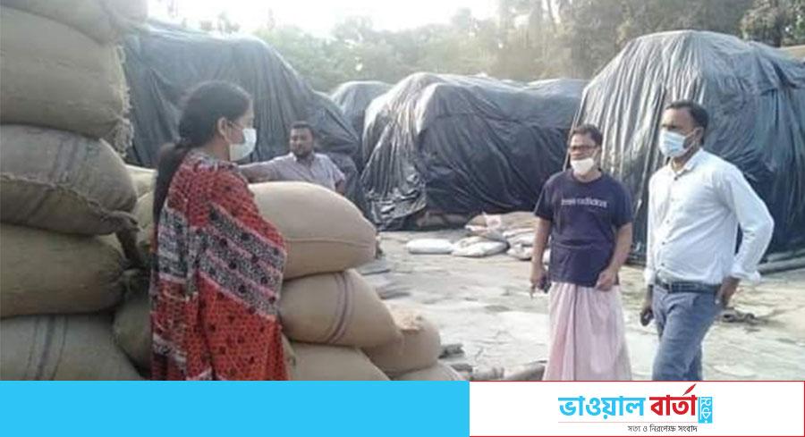 কাপাসিয়ায় ধান-চাল মজুদদারি রোধে কঠোর প্রদক্ষেপ  নিয়েছেন উপজেলা প্রশাসন